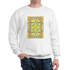 YELLOW BUTTERFLIES Sweatshirt