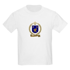 NADEAU Family Crest Kids T-Shirt