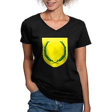 SCA Women's V-Neck Dark T-Shirt