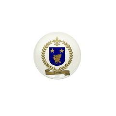 NADEAU Family Crest Mini Button