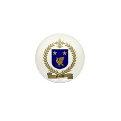NADEAU Family Crest Mini Button