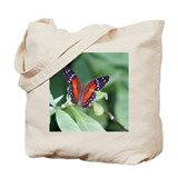 Blue butterfly keepsake Canvas Tote Bag