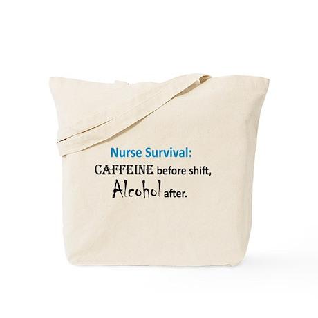 Nurse Survival Tote Bag