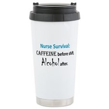 Nurse Survival Travel Mug