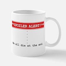 Spoiler Alert Word Nerd Mug