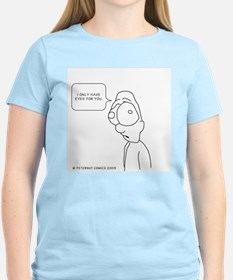 Cute I only look straight T-Shirt