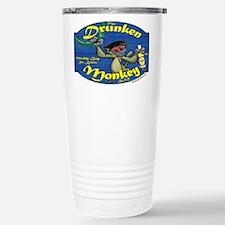 Drunken Monkey Stainless Steel Travel Mug