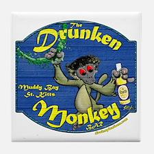 Drunken Monkey Tile Coaster