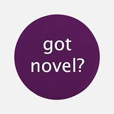 """got novel? 3.5"""" Button"""