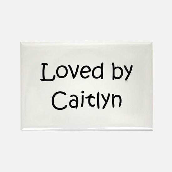 Unique Caitlyn Rectangle Magnet