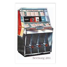 Seeburg 201 Jukebox Postcards (Package of 8)