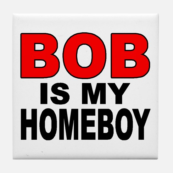 HOMEBOY BOB Tile Coaster