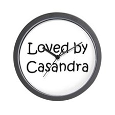 Cool Casandra Wall Clock