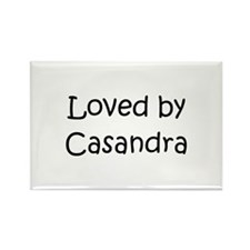 Unique Casandra Rectangle Magnet
