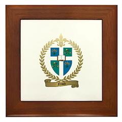 NAUD Family Crest Framed Tile