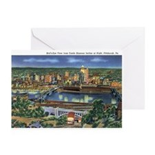 Pittsburgh PA Greeting Cards (Pk of 10)