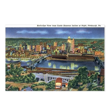 Pittsburgh PA Postcards (Package of 8)