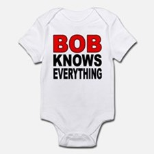 BOB KNOWS Infant Bodysuit