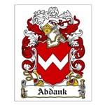 Abdank Family Crest Small Poster