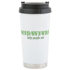 Midwives Help Stainless Steel Travel Mug