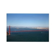 sf gifts aerial landmarks Magnets (10 pack)