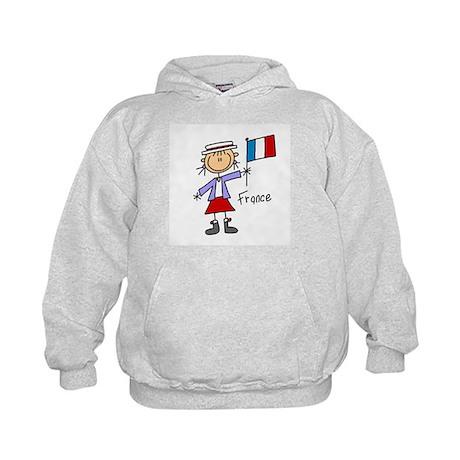 France Ethnic Kids Hoodie