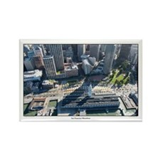 aerial SF landmarks Ferry Building magnets 10 pack