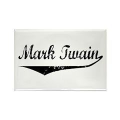 Mark Twain Rectangle Magnet (10 pack)