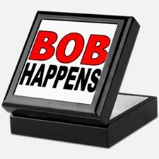 BOB HAPPENS Keepsake Box