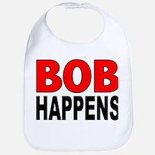 BOB HAPPENS Bib