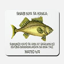 Matthew 4:19 Tagalog Mousepad
