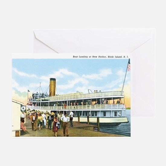 Block Island RI Greeting Card