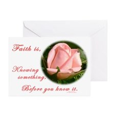 Faith is... Greeting Cards (Pk of 20)
