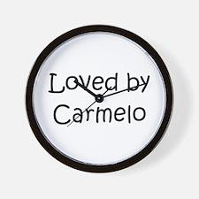 Cute Carmelo Wall Clock