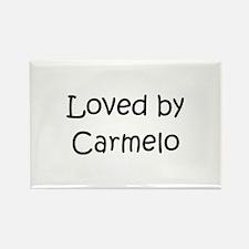 Cute Carmelo Rectangle Magnet