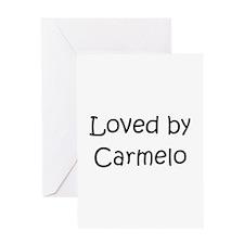 Cute Carmelo Greeting Card