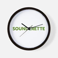 Cute Sounders soccer Wall Clock