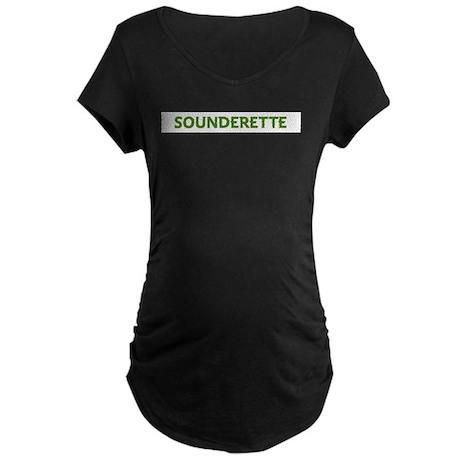 Sounderette_gr_sized Maternity T-Shirt