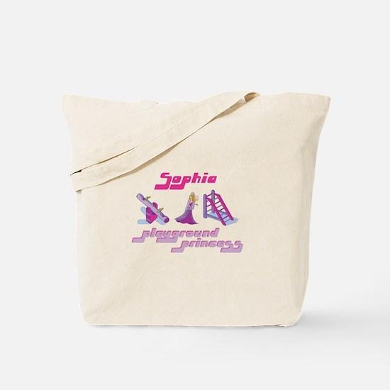 Sophia - Playground Princess Tote Bag