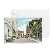 Woonsocket RI Greeting Card