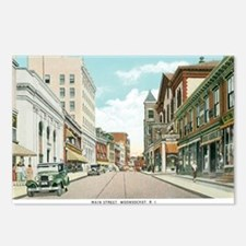 Woonsocket RI Postcards (Package of 8)