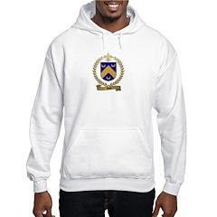 NOEL Family Crest Hooded Sweatshirt