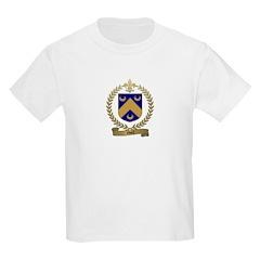 NOEL Family Crest Kids T-Shirt