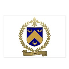 NOEL Family Crest Postcards (Package of 8)