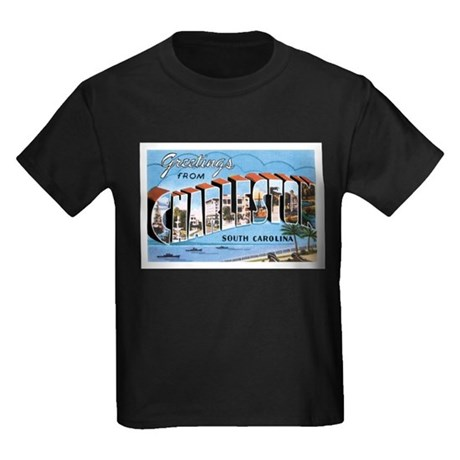 Charleston sc kids dark t shirt charleston sc t for T shirt printing charleston sc