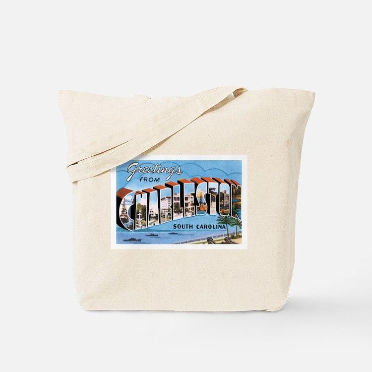 Charleston SC Tote Bag