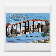 Charleston SC Tile Coaster