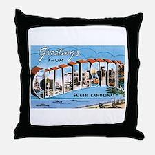 Charleston SC Throw Pillow