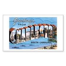 Charleston SC Rectangle Decal