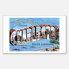 Charleston SC Rectangle Sticker 50 pk)